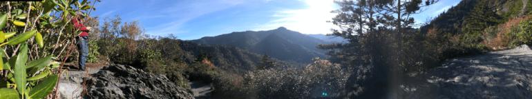alum cave overlook